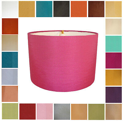 £29.99 • Buy Drum Lampshades Available In 24 Colours, To Fit A Ceiling Light Or A Table Lamp.