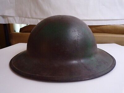 Ww1 Us Soldiers Doughboy Helmet With Liner And Chinstrap. • 147.26£