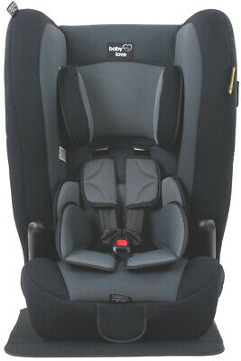 AU299 • Buy Babylove Ezy Combo II Convertible Booster Seat - Black Grey