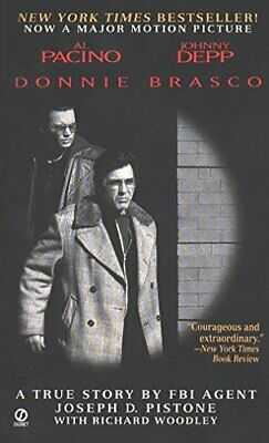 Donnie Brasco: My Undercover Life In The Mafia: A True Story By An FBI Agent, P • 9.65£