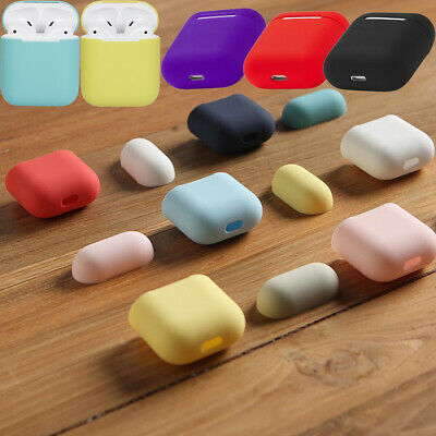 $ CDN4.66 • Buy For Airpods 1&2 Cover Airpod Case Rubber Silicone Shockproof Shell Mutil-Color