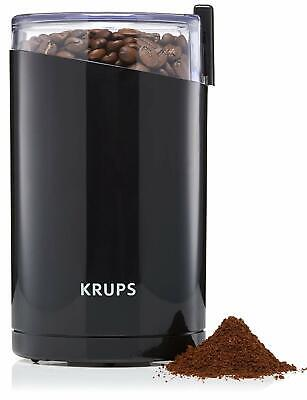 Electric Coffee Bean Mill Grinder Krups Twin Blade Push Button Espresso Safe New • 24.58£