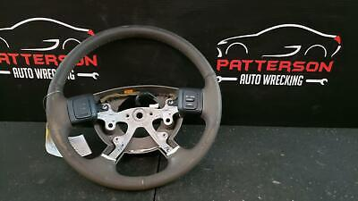 $175 • Buy 2004 DODGE RAM 1500 Leather Wrapped Steering Wheel W/ Accessory Controls Taupe