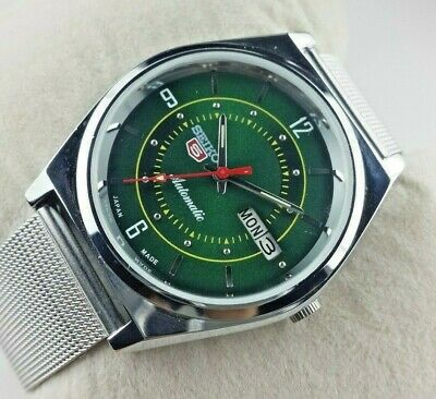 $ CDN51.90 • Buy Vintage Seiko 5 Excellent Basil Green Automatic Japan Men's Wrist Watch Mn..