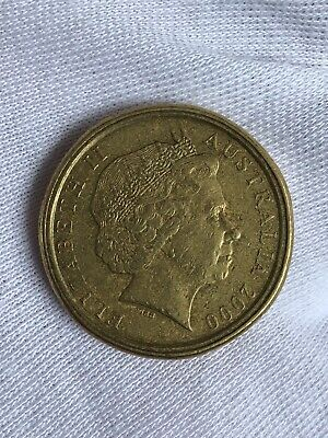 AU1200 • Buy 2000 Australian One Dollar Coin  $1/10c MULE - VERY RARE - VERY COLLECTABLE