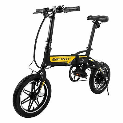 $464.39 • Buy Swagcycle EB5 Plus Folding Electric Bike W/ Removable Battery Pedals 250W Motor