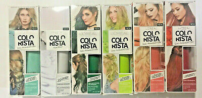 LOreal Colorista Semi-Permanent Hair Color: CLEARMIXER00, PEACH100, TANGERINE40 • 5.72£