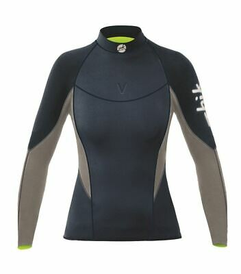 £129 • Buy Womens Zhik Superwarm V Top - Sailing Wetsuit Top - FREE DELIVERY