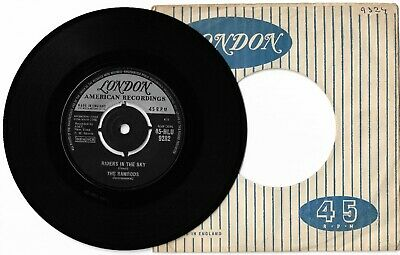 Riders In The Sky By The Ramrods 7  45RPM Single 1961 London HLU 9282 *EX-* • 2.99£