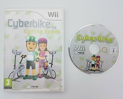 Cyberbike Cycling Sports - Nintendo Wii / Wii U - PAL - Fast P&P! - Cyber Bike • 9.95£