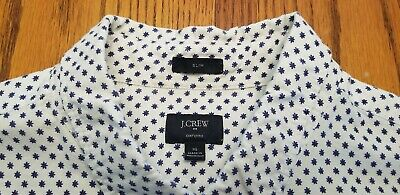 $18 • Buy J Crew Mens Button Front Shirt.   Perfect Condition. Xl Slim Fit
