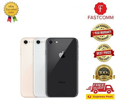 AU405 • Buy  New Apple IPhone 8 64GB 256GB Space Grey Silver Gold Unlocked Free Express