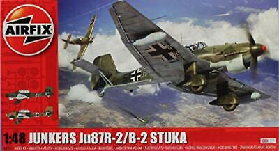 $32 • Buy Airfix 1:48 Junkers Ju-87R-2/ B-2 Stuka Plastic Aircraft Model Kit #A07115