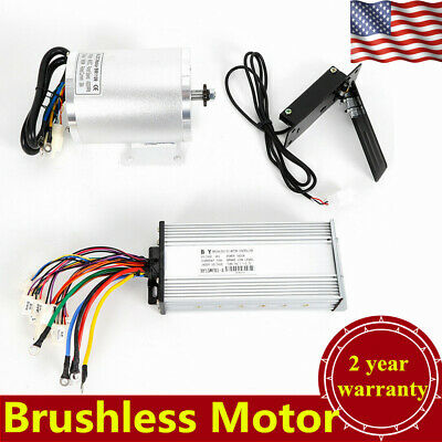 $174.66 • Buy 48V 1800W Electric Bicycle E-bike Brushless Motor+Controller Box+Foot Pedal New