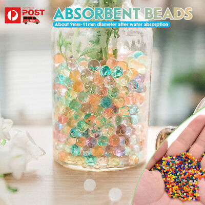 AU17.99 • Buy 10000Pcs Crystal Soil Orbeez Water Balls Jelly Gel Beads Plant Vase Decoration