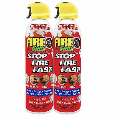 $21.51 • Buy Fire Extinguisher Home Kitchen Fire Gone Fast Easy Use Office Boat Car 16oz Safe