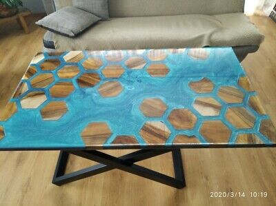 Epoxy Resin Coffe Table • 795£
