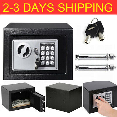 £37.55 • Buy Fireproof Electronic Password Security Safe Money Cash Deposit Box Office Home