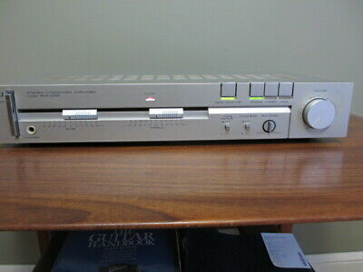 $70.44 • Buy Akai AM-U110 Stereo Integrated Amplifier,  Fully Tested/working/cleaned, EUC