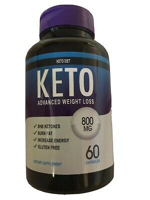 $11 • Buy Shark Tank's Keto Supplements Advanced Weight Loss 800mg 60 Tablets