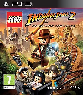 £6.49 • Buy Lego Indiana Jones 2 The Adventure Continues - PS3 Playstation 3