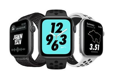 $ CDN351.84 • Buy Apple Watch Series 4 Nike+ Aluminum 44MM GPS Only - Silver Space Gray | Poor (C)
