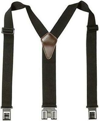$12.99 • Buy Dickies Black Y-Back Suspenders For Men With Hooks On Belt Loops One Size