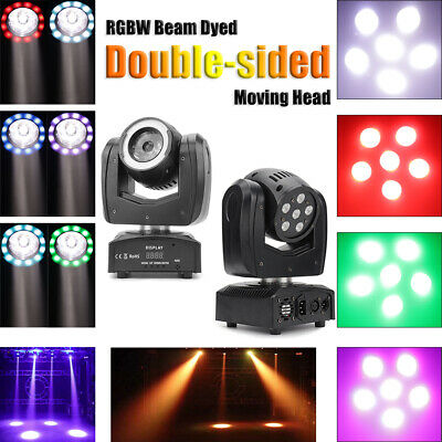 £81.99 • Buy 120W 6LED Double Stage Light RGBW Spot Sides Moving Head DMX DJ Party Lighting