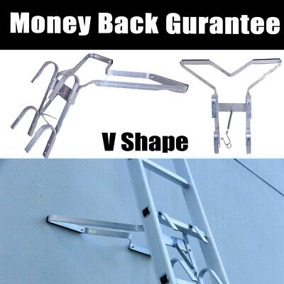 £28.79 • Buy Universal Ladder Stand-Off V-shaped Downpipe - Ladder Accessory Easy Fitting