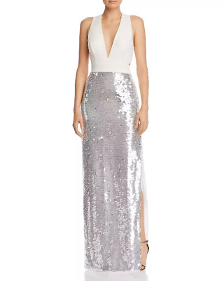 $69.99 • Buy Aidan By Aidan Mattox Sequined Column Gown MSRP $295 Size 12 # 4NA 326 NEW