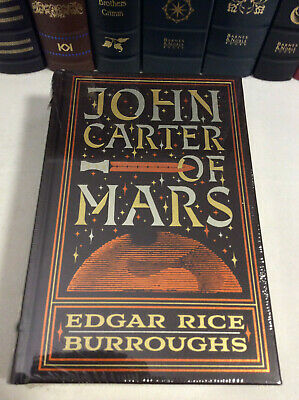 $45 • Buy John Carter Of Mars By Edgar Rice Burroughs - 5 Novels In 1 - Leather-bound, New