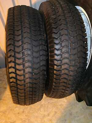 New 11.2 X 20 Rear Turf Tyres & 26-7.5 X 12 Front Tyres For Foton / Siromer • 780£