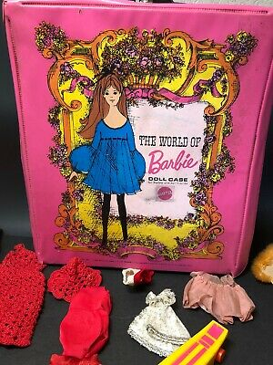 $ CDN108.82 • Buy Vintage 1968 Barbie Doll Case By Mattel W/ Clothes