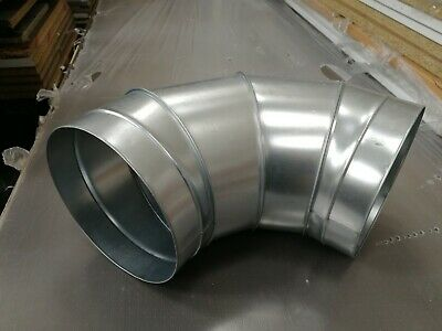 Elbow 100mm Grow Room Ventilation Duct Pipe Fan Ducting  • 7.99£