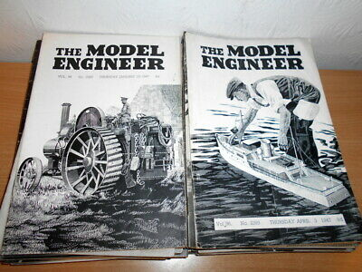 £12.99 • Buy  THE MODEL ENGINEER Magazines Published 1947. Job Lot.35 Copies.