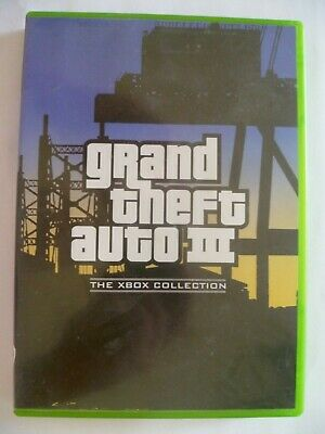 AU11 • Buy Grand Theft Auto III - Microsoft Xbox PAL - Complete + Map - VGC