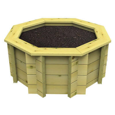 Raised Garden Bed - 8ft Octagonal - 295mm Height - 44mm Thick Wall • 192£