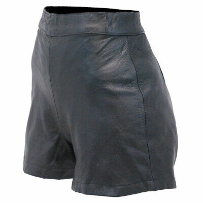 $24.99 • Buy Black Leather High-Waisted Booty Shorts #SH1103K - Size XXS