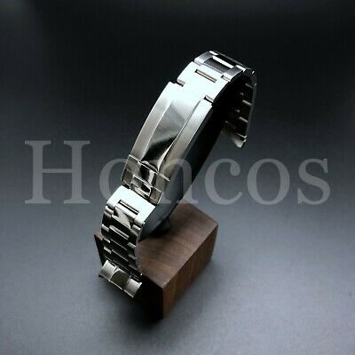 $ CDN61.60 • Buy Oyster Watch Band Bracelet Fits Rolex Yachtmaster 20mm Flip Lock Stainless Steel