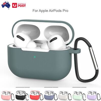 AU6.89 • Buy Rubber TPU Earphone Bluetooth Shockproof With Hook UP Case Cover For AirPods Pro