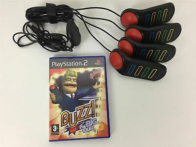 Buzz The Big Quiz With Buzzers - Playstation 2 PS2 • 28.99£