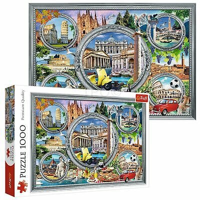 £7.99 • Buy Trefl 1000 Piece Adult Large Famous Monuments In Italy Holiday Jigsaw Puzzle NEW