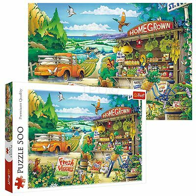 £8.49 • Buy Trefl 500 Piece Kids Large Morning In The Countryside Scene Floor Jigsaw Puzzle