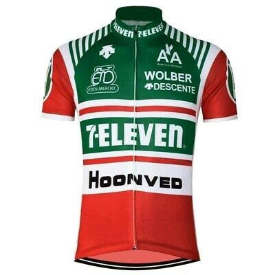 AU28.51 • Buy Retro Team 7 Eleven 11 USA Jersey Cycling Jersey Short Sleeve