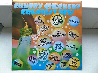 Chubby Checker - Greatest Hits - Vinyl Album • 5£