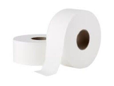 AU49.99 • Buy 2 X JUMBO TOILET PAPER ROLL TISSUE 2PLY 300M Individually Wrapped - FREE POST