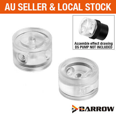 AU55 • Buy Barrow PC Water Cooling Acrylic PMMA Pump Top Head For D5 / MCP655 / SPG40A Pump