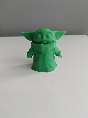$10.99 • Buy Baby Yoda Fan Art. Star Wars 3D Action Figure. 2.2  Figurine. The Mandalorian.