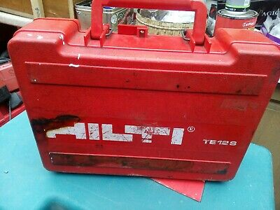 Hilti 110 Volt Sds Drill Good Working Condition With Some Sds Drill Bits  • 40£