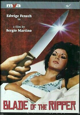 Sergio Martino's BLADE OF THE RIPPER DVD (1971) Giallo US Release In English • 34.99£